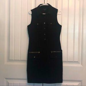 Zac & Rachel sleeveless utility cargo dress; 8